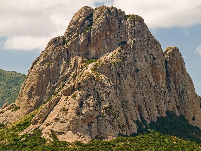 La impresionante roca de la Peña Bernal