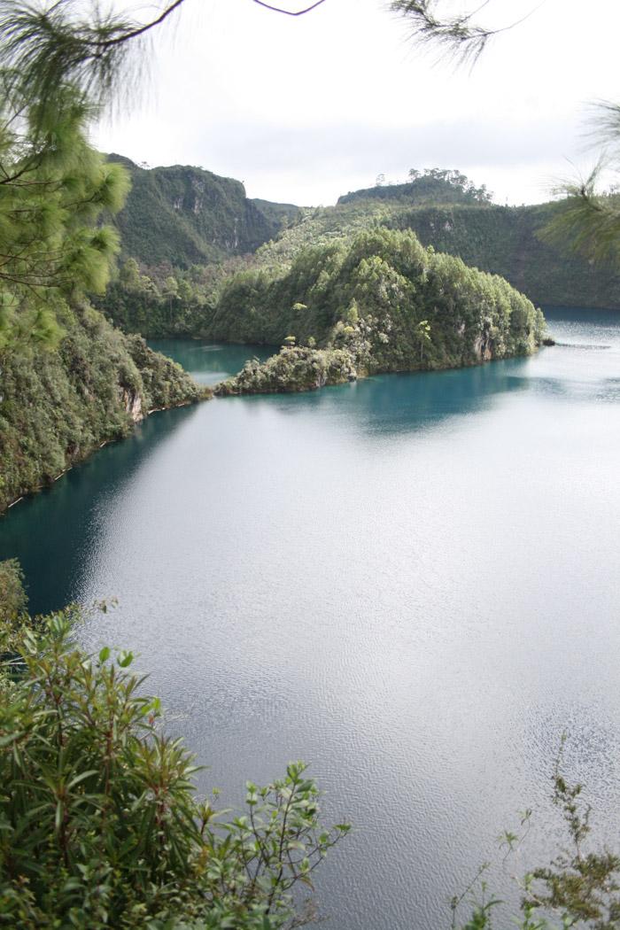 Las lagunas de Montebello