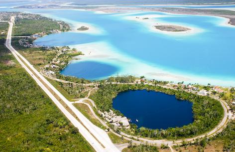 Laguna de Bacalar y Cenote Azul
