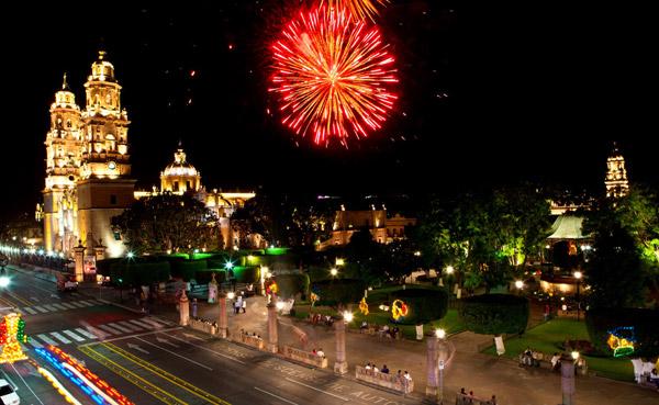 Morelia, capital de Michoacán