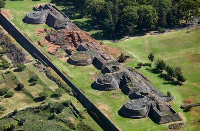 Yacimiento arqueológico de Tzintzuntzan