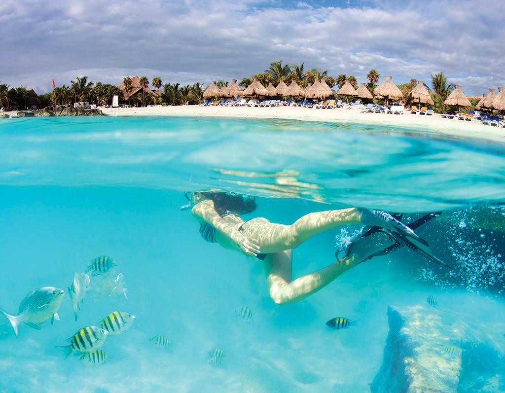 Entre dos mundos en la Riviera Maya