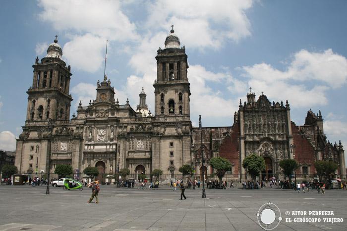 Catedral Metropolitana de Ciudad de México en el Zócalo