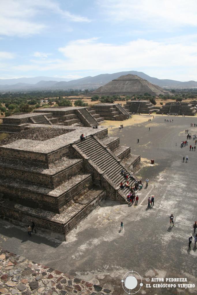 Yacimiento de Teotihuacán en el Estado de México