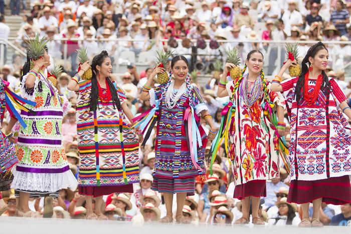 Fiesta de la Guelaguetza en la ciudad de Oaxaca