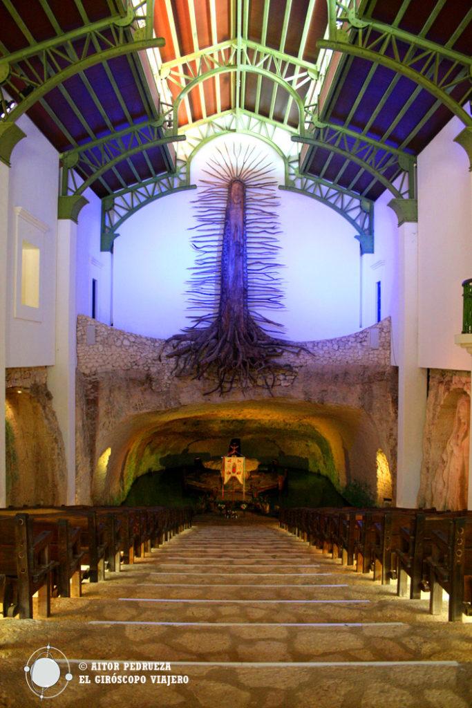 Capilla de Guadalupe en Xcaret