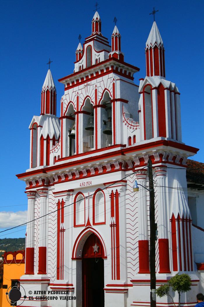 Iglesia del Barrio Mexicanos de San Cristóbal de las Casas