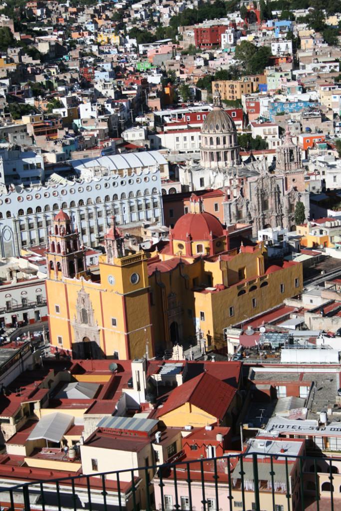 Guanajuato desde el cerro del Pípila