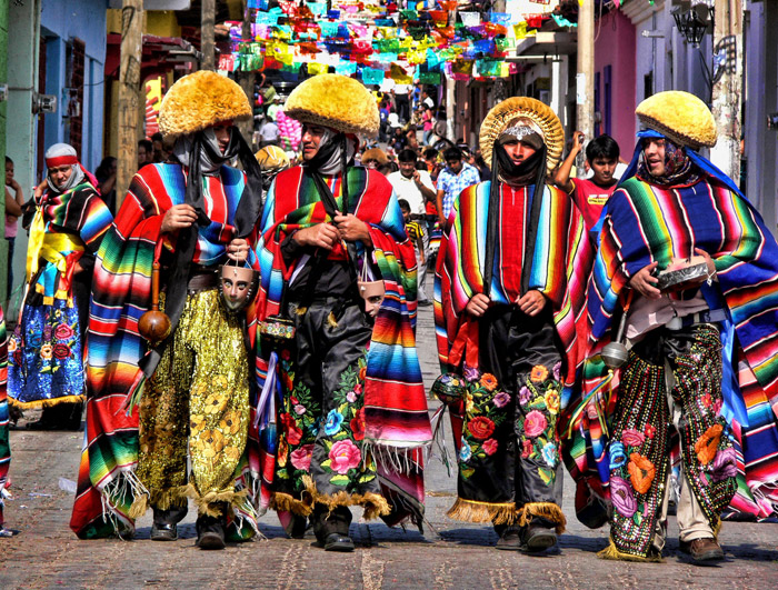 Fiesta de los Parachicos en Chiapa de Corzo