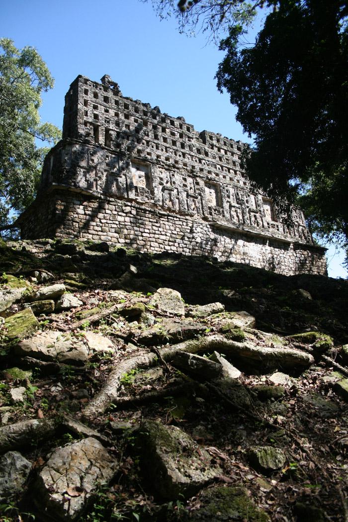 Ciudad maya de Yaxchilán