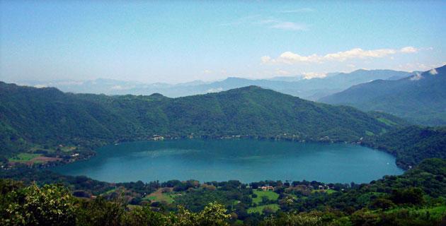 Laguna Encantada en Santa María del Oro