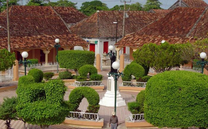 Casas típicas de Palizada..Foto Jorge-L.Borroto-