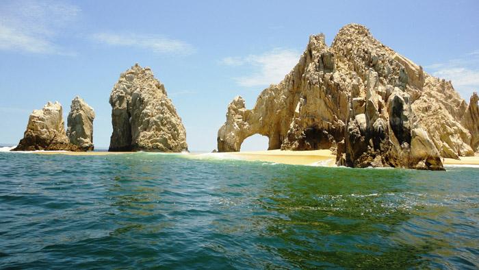 El archifamoso Arco de Cabo San Lucas