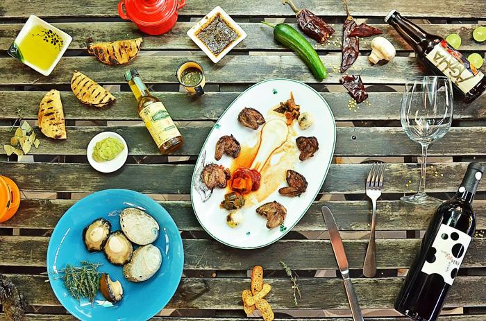 Gastronomía Baja Med. Fusión en los platos de Baja California