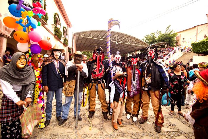 Fiesta de Xantolo en la Huasteca Potosina