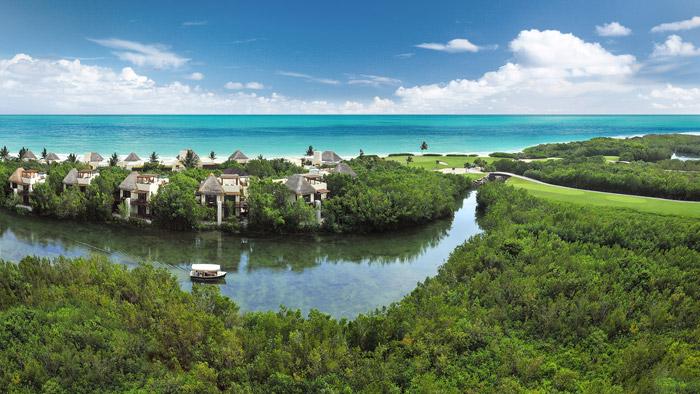 Resorts y hoteles en la Riviera Maya