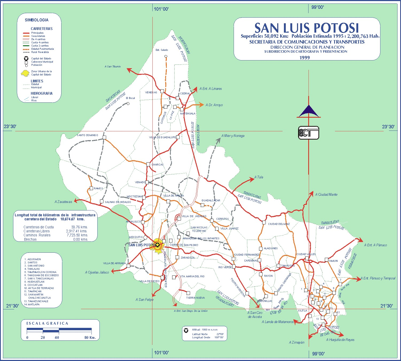 San Luis Potosi Guia De Mexico Turismo E Informacion