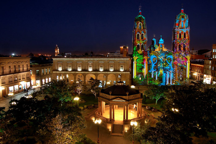 El centro de San Luis Potosí