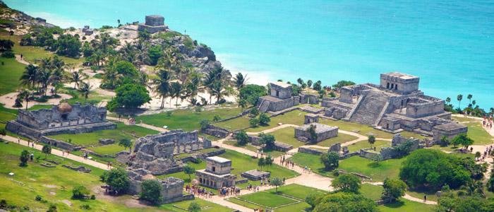 Yacimiento de Tulum en la Riviera Maya
