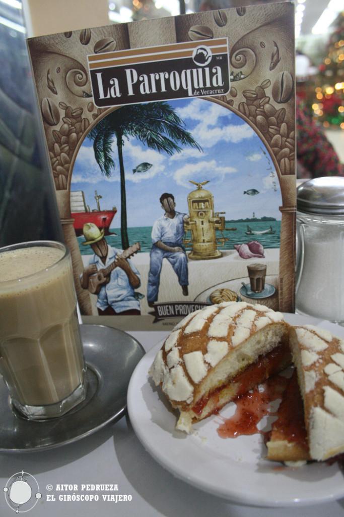 Café La Parroquia, un clásico de Vercruz