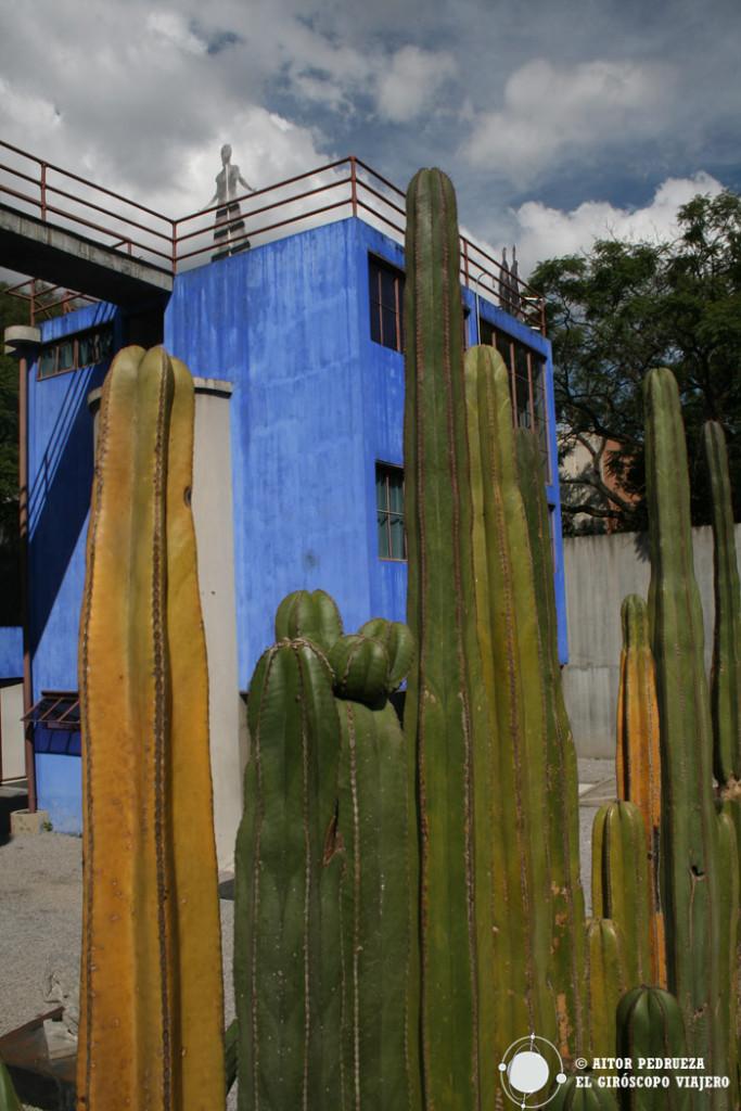Casa Azul. Estudio y museo de Diego Rivera y Frida Kalho