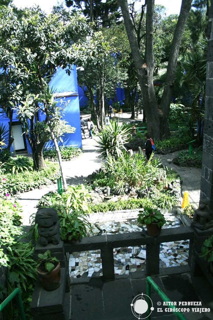 Casa de Frida Kalho en Coyoacán