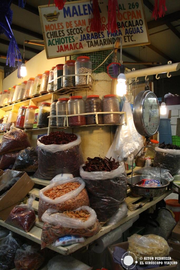 Puestos del Mercado de San Juan