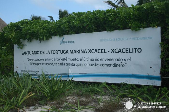 Santuario de la Tortuga marina de Xcacel
