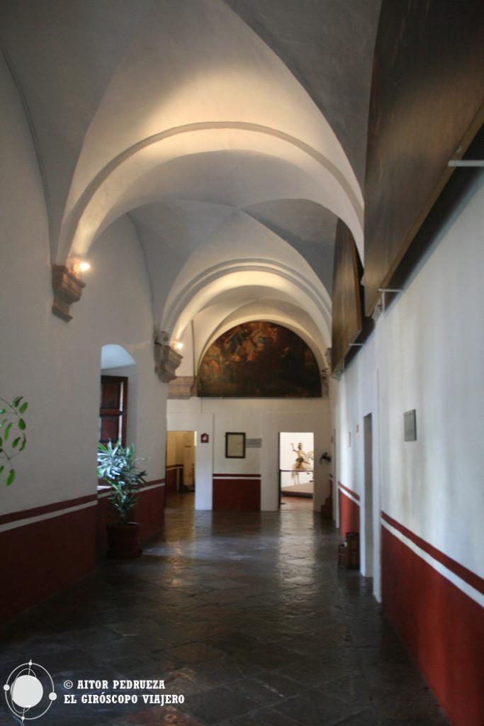 Interior convento de Tepozotlán