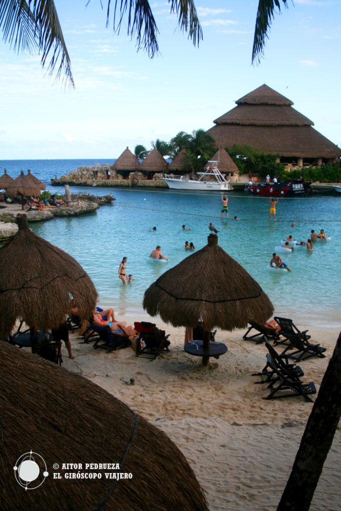 Playas del Parque temático Xcaret