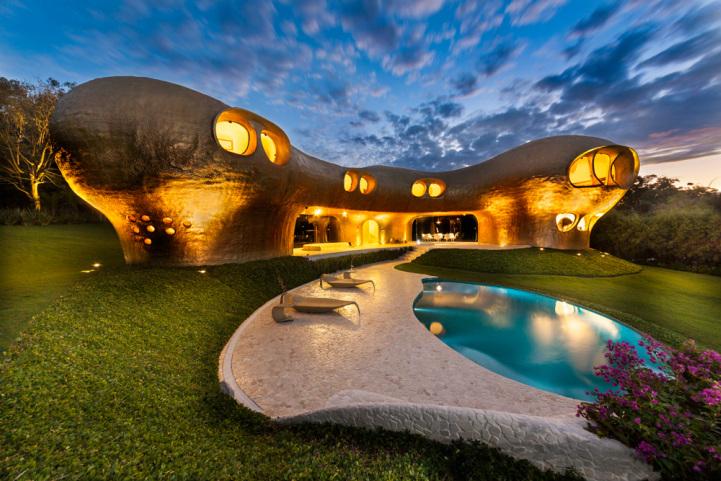 Casa amiba, obra de Senosiain