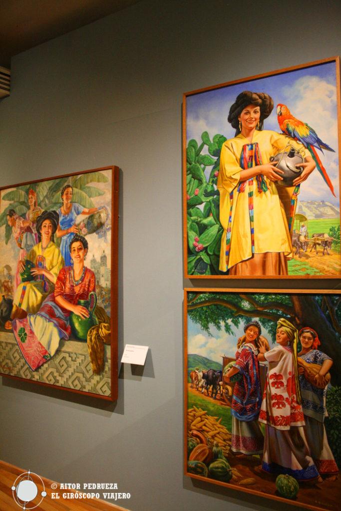Exposición de carteles mexicanos en el Museo Soumaya de Plaza Loreto