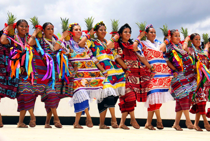 Fiesta de la Guelagetza en Oaxaca