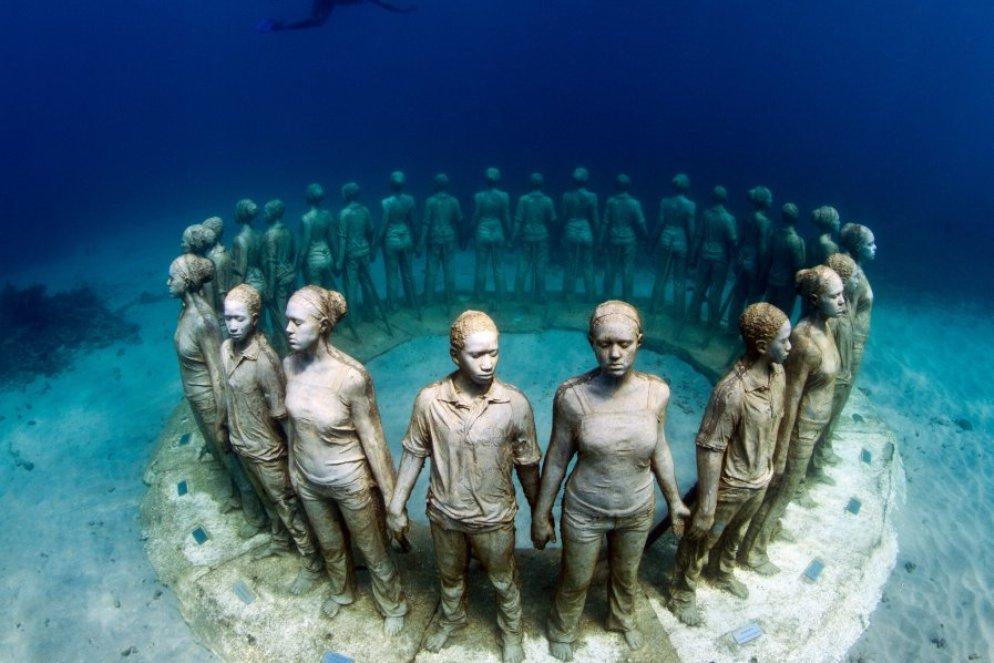 Esculturas del MUSA, Museo Subacuático de Arte