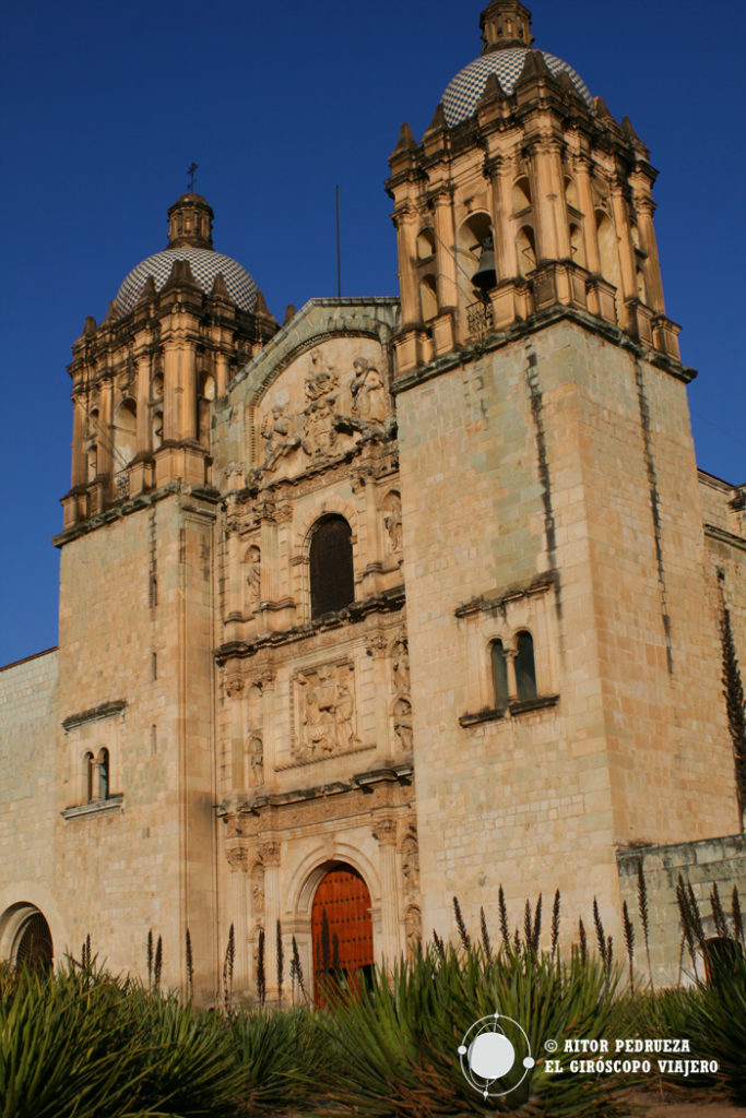 Templo de Santo domingo en Oaxaca de Juárez