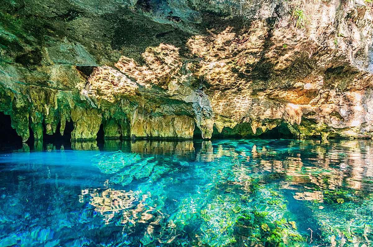 Gran Cenote cerca de Tulum