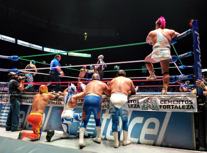 Espectáculo de Lucha Libre en Ciudad de México