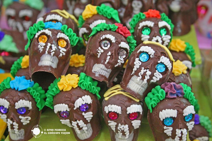 Calaveritas, dulces típicos del día de muertos en México