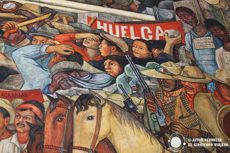 Murales De Diego Rivera En El Palacio Nacional Guia De Mexico