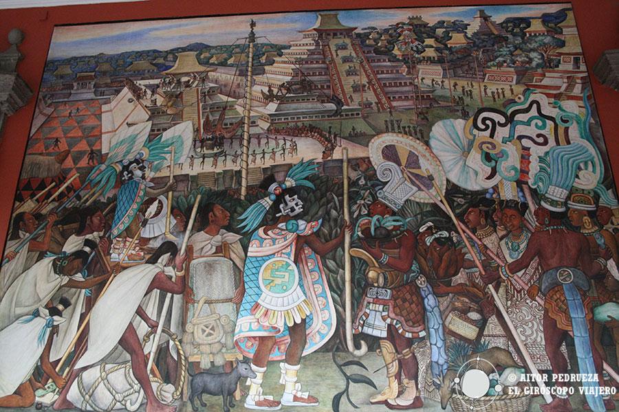 La grandeza de Tenochtitlán