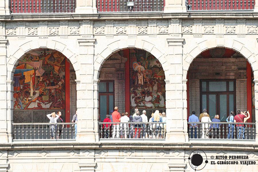 Murales del Palacio Nacional de Ciudad de México