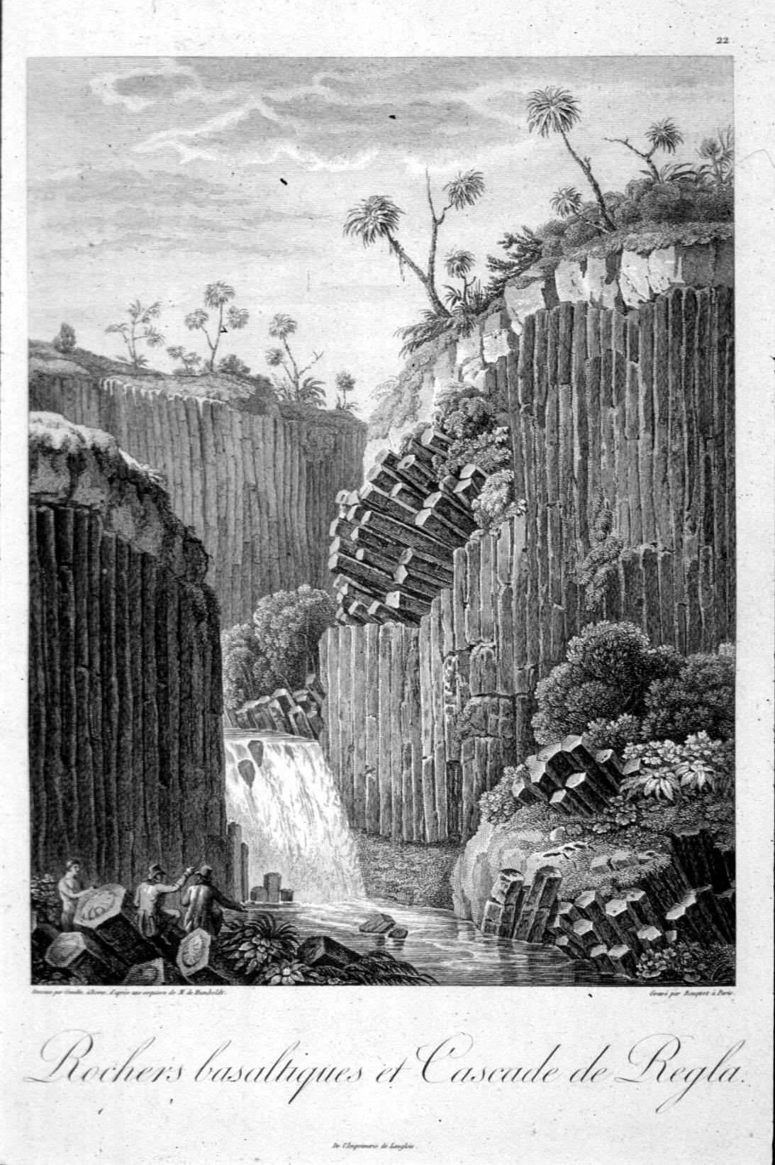 Grabado de Alexander von Humboldt que hoy se haya en el Museo Británico de Londres.