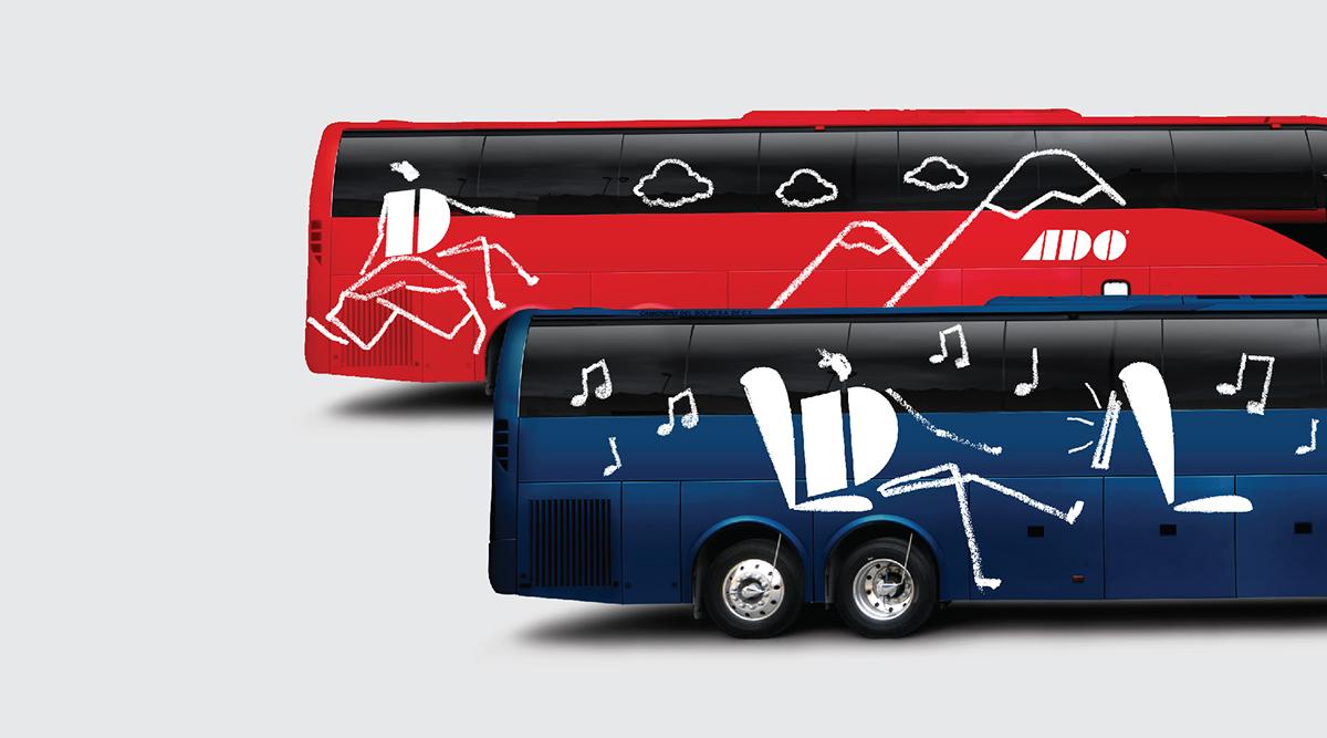 Los autobuses ADO son una perfecta opción para llegar a Playa del Carmen