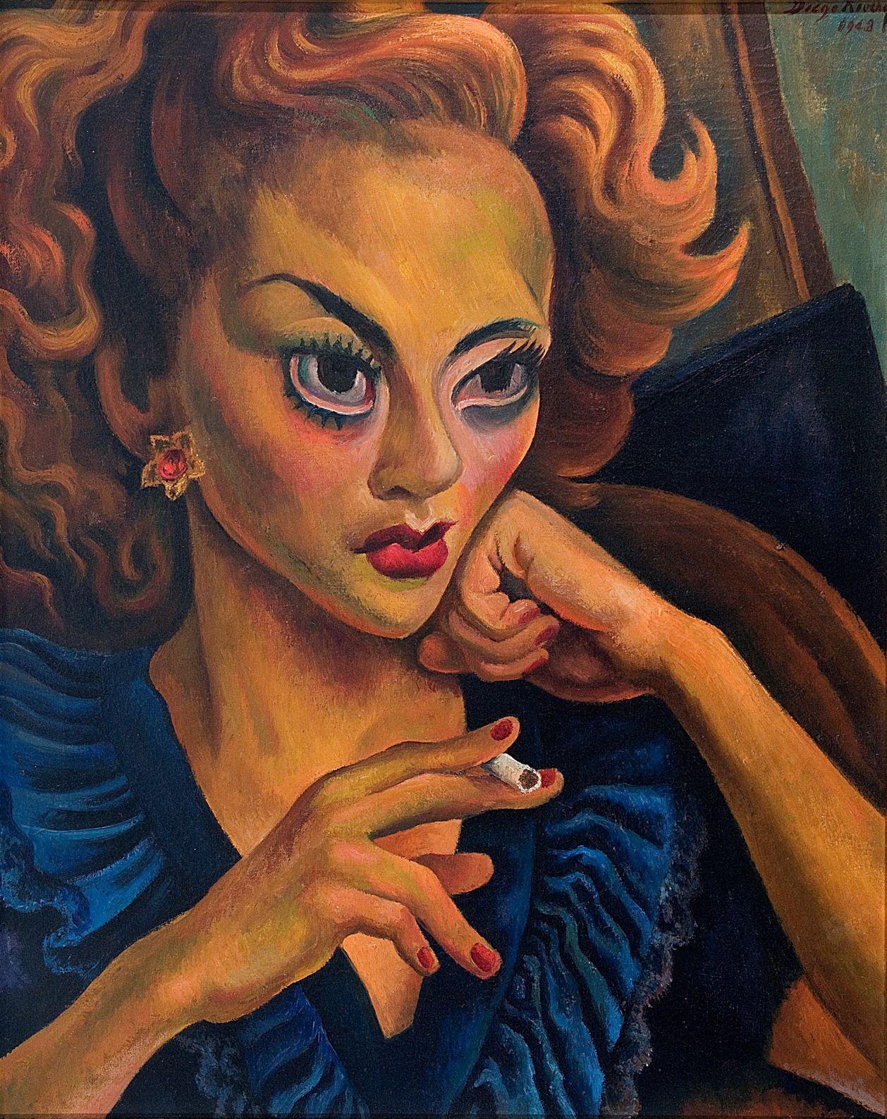 Cuadro de la exposición Diego Rivera, artista universal en Casa México Madrid