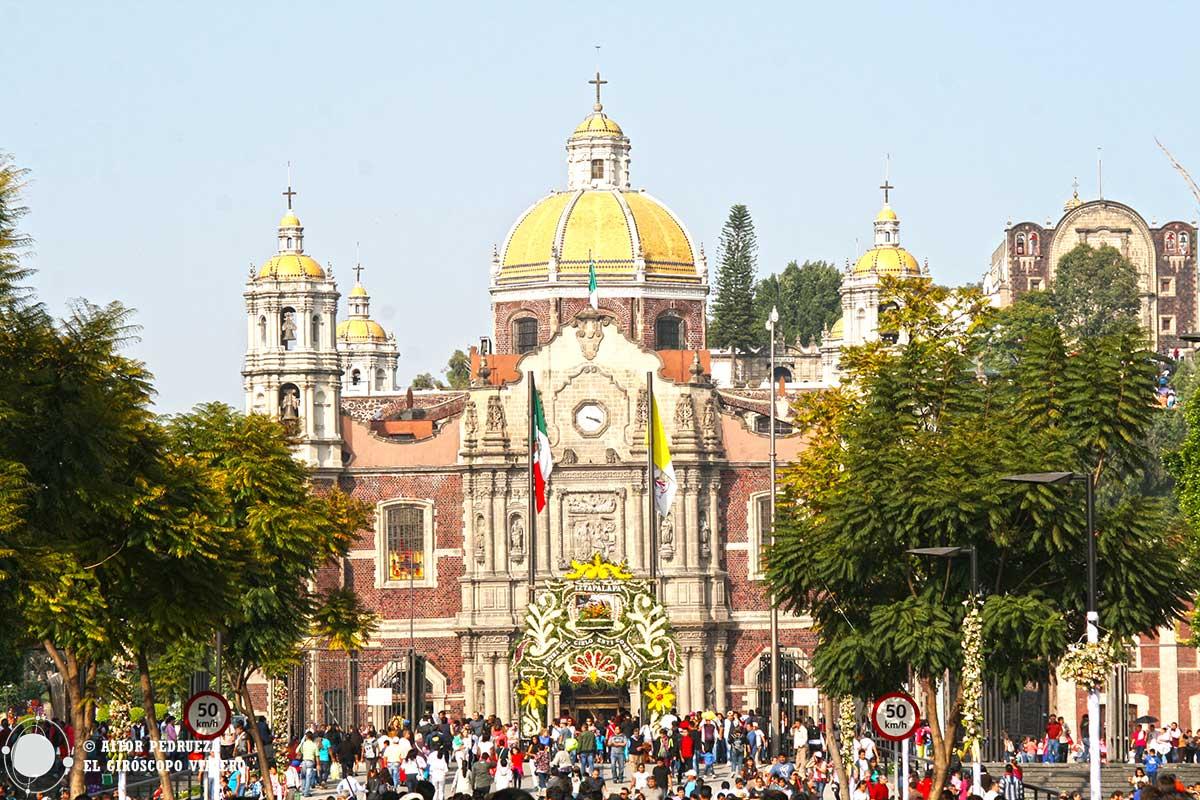 Antigua basílica de la Virgen de Guadalupe