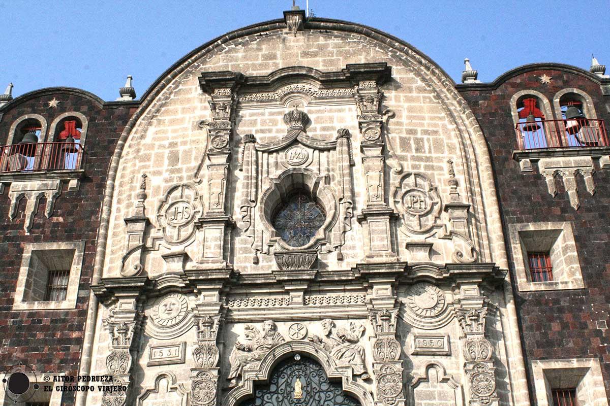 Capilla del Cerrito en el conjunto de la basílica de Guadalupe