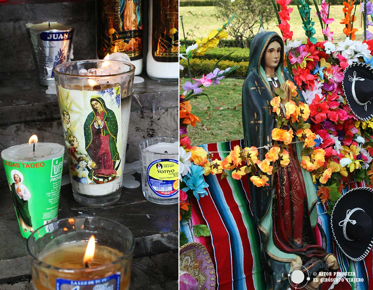 Culto a la virgen de Guadalupe en México