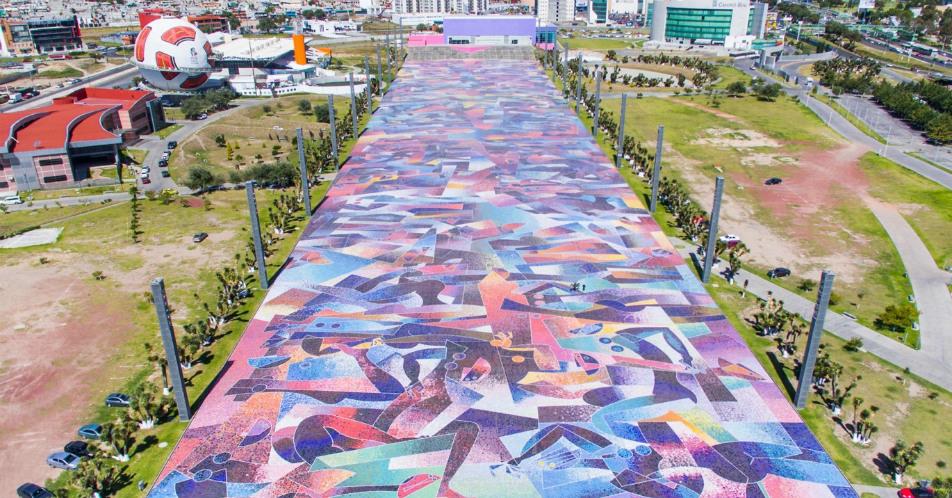 Mosaico del Parque David Ben Gurión