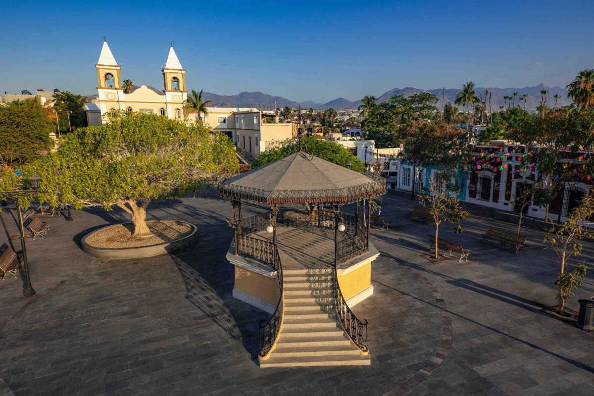 Plaza Mijares en San José del Cabo