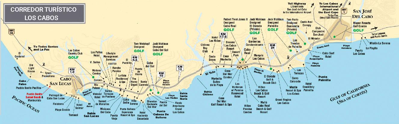Corredor turístico de Los Cabos
